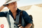 Matthew McConaughey for GQ Magazine November 2014 at UltimateGraveyard